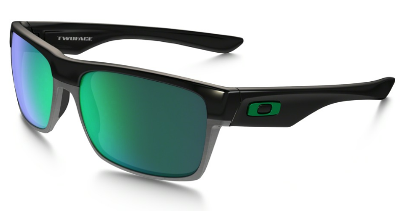 Okulary OAKLEY TWOFACE Polished Black / Jade Iridium oo9189-04