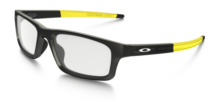 Oprawki OAKLEY CROSSLINK PITCH Satin Black / Yellow OX8037-19