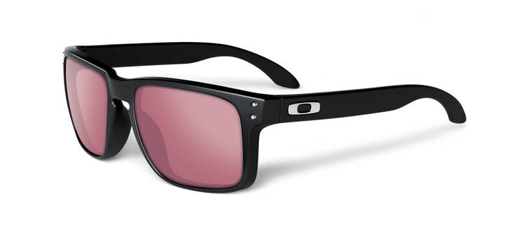 Okulary OAKLEY HOLBROOK Polished Black / G30 Iridium oo9102-55