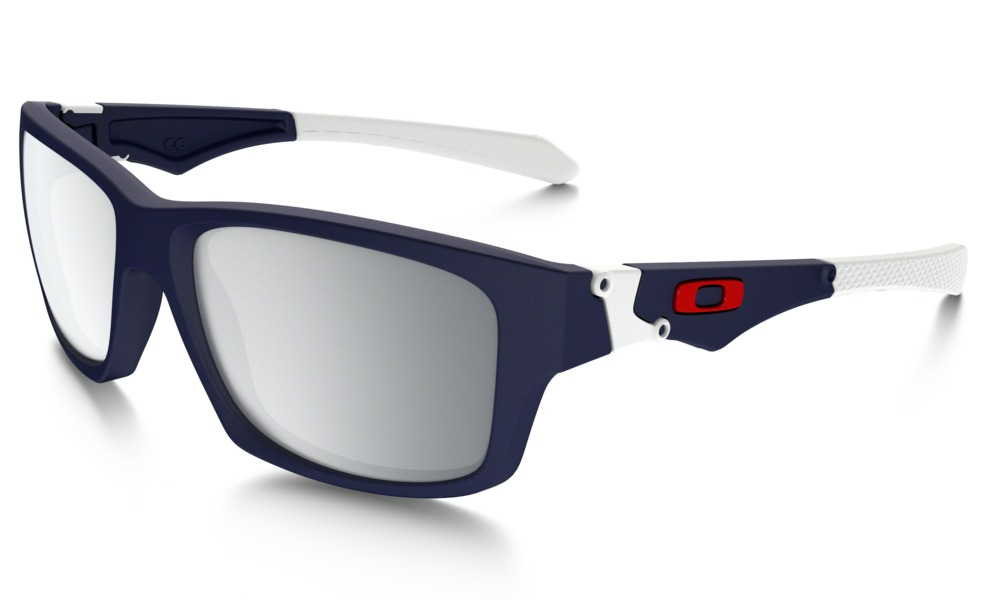 Okulary OAKLEY JUPITER SQUARED Matte Navy / Chrome Iridium oo9135-02