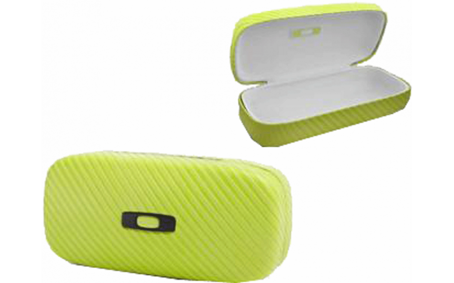 4f7c5d20e92b4 Etui OAKLEY SQUARE O Neon Yellow HARD CASE 100-270-002 - 1242