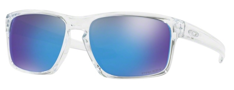 Okulary OAKLEY SLIVER Polished Clear / Prizm Sapphire oo9262-47