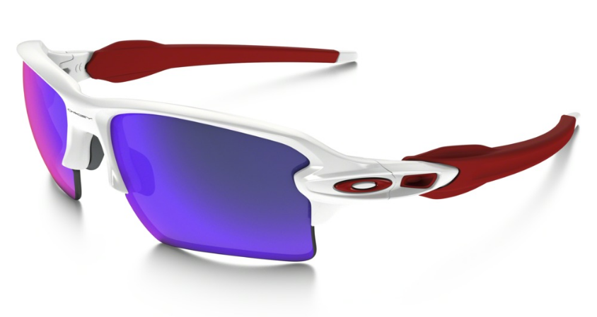 Okulary OAKLEY Flak 2.0 XL Polished White / Positive Red Iridium oo9188-21