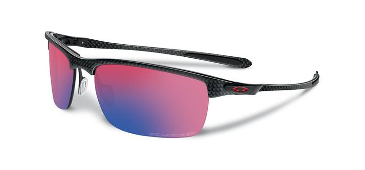 Okulary OAKLEY CARBON BLADE Polished Carbon / OO Red Iridium Polarized oo9174-02