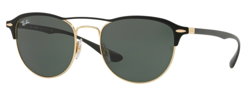 Okulary RAY BAN 3596 Gold Top On Matte Black / Dark Green ORB3596-907671