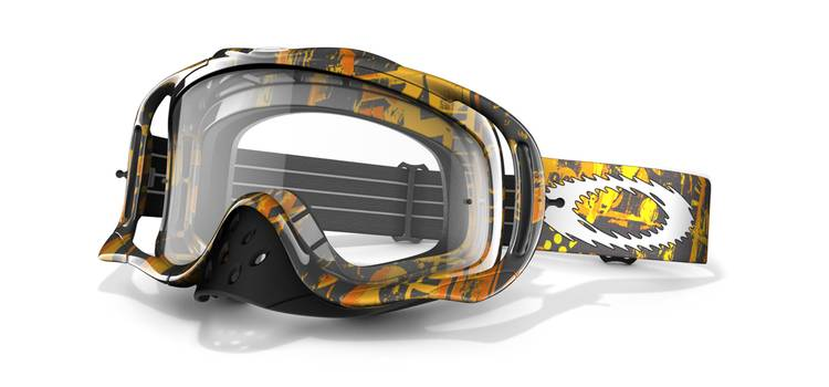Google MX OAKLEY CROWBAR MX One Icon BYO / Clear 57-958