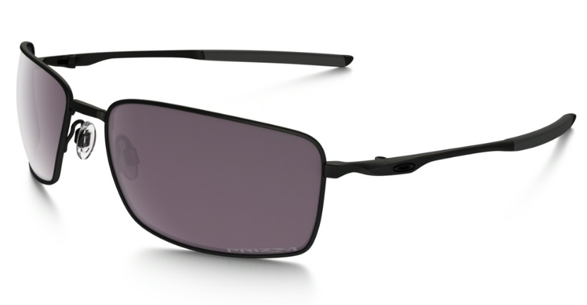 Okulary OAKLEY SQUARE WIRE Matte Black / Prizm Daily Polarized oo4075-09