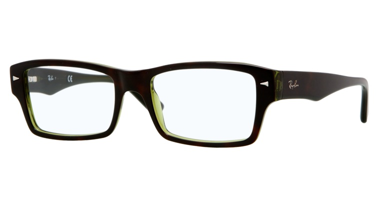 Oprawki RAY BAN 5254 Dark Avana/Transparent Green ORX5254-2383