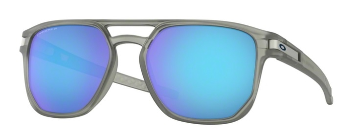 Okulary OAKLEY LATCH BETA Matte Grey Ink / Prizm Sapphire Polarized oo9436-06