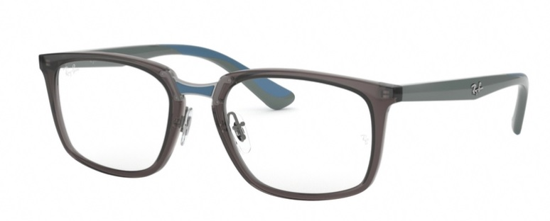 Oprawki RAY BAN 7148 Transparent Grey ORX7148-5760