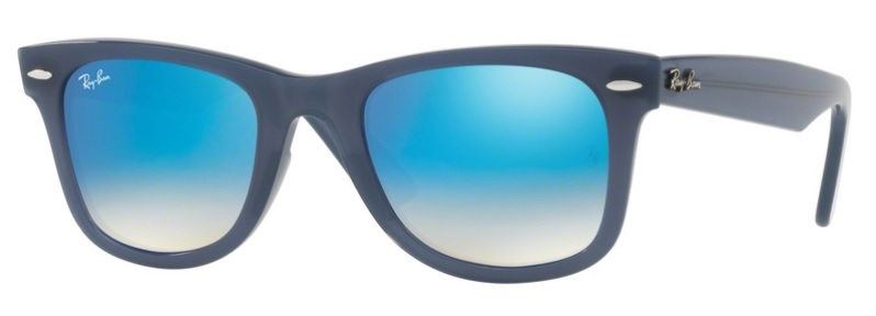 Okulary RAY BAN 4340 WAYFARER Blue / Brown Gradient Mirror Blue ORB4340-62324O