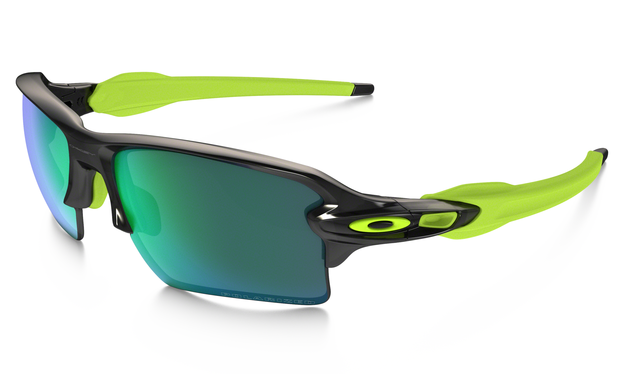 Okulary OAKLEY Flak 2.0 XL Black Ink / Jade Iridium Polarized oo9188-09
